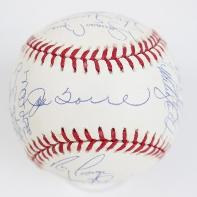 Joe Torre Yankees Signed Baseball