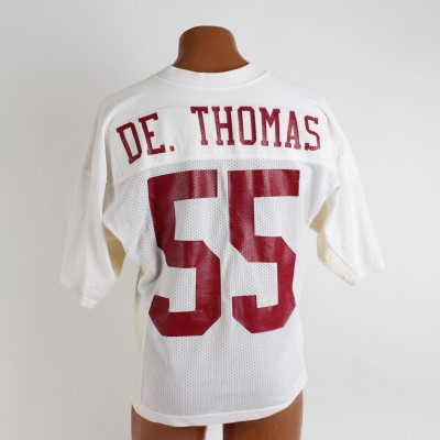 University of Alabama Crimson Tide - Derrick Thomas Game-Worn Jersey (Tons of Repairs & Photo Style Match)
