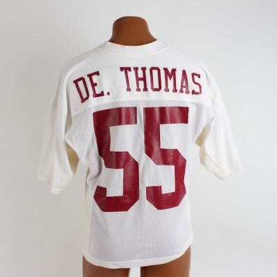 University of Alabama Crimson Tide - Derrick Thomas Game-Worn Jersey (Tons of Repairs & Photo Style Match)