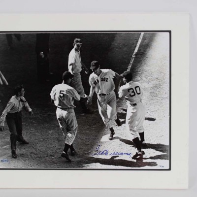 Boston Red Sox Ted Williams Signed 16x20 Photograph (COA Upper Deck)