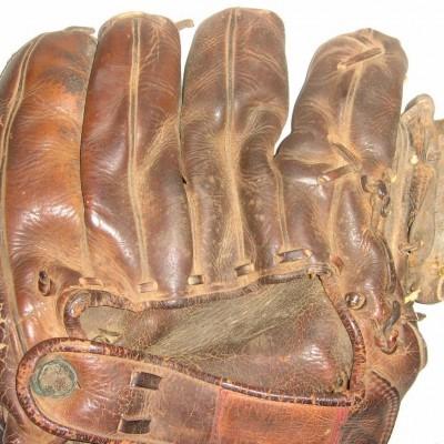 Iconic Jackie Robinson Game-Worn Glove