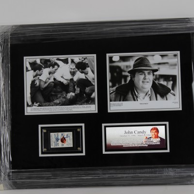 Actor John Candy Signed Kings Ticket Stub 23 x 33 Display In Person Autograph - JSA