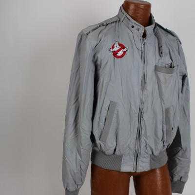 Original 1984 Ghostbusters Movie Film Crew Jacket & Original Controversial T-Shirt (Incl. Letter of Provenance)