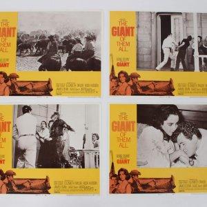 4 Giant Movie Lobby Cards R-70/293 Dean, Taylor and Hudson