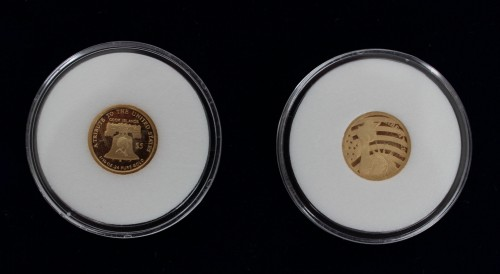 $ 5 American Statue Of Liberty 1/10 Oz Gold Coins