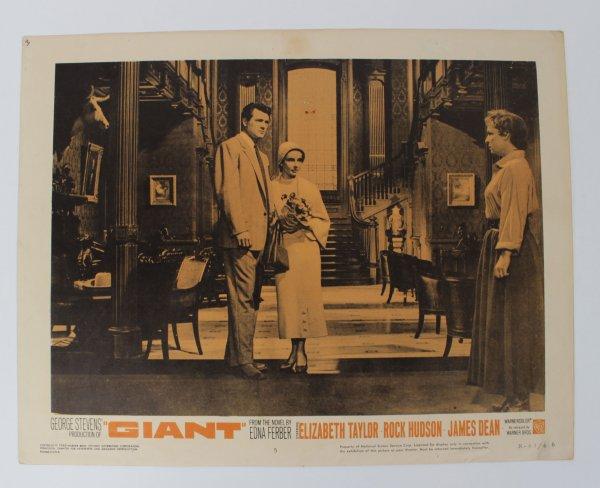 The Giant Movie Lobby Card R-63/66 Dean, Taylor and Hudson