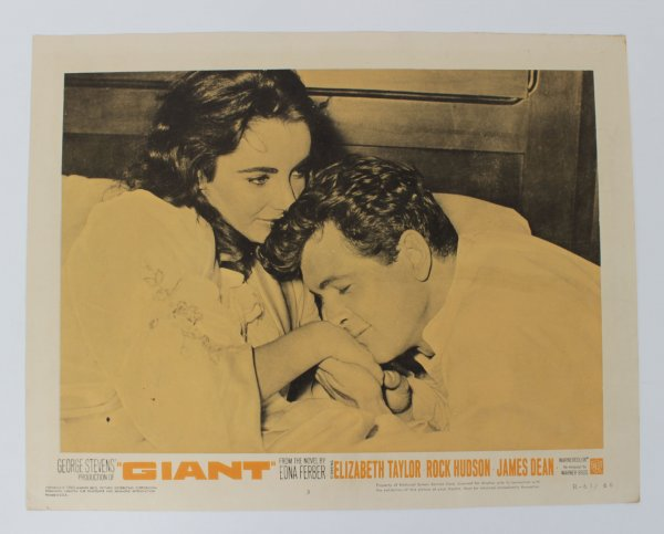 The Giant Movie Lobby Card R-63/66 Dean, Hudson and Taylor