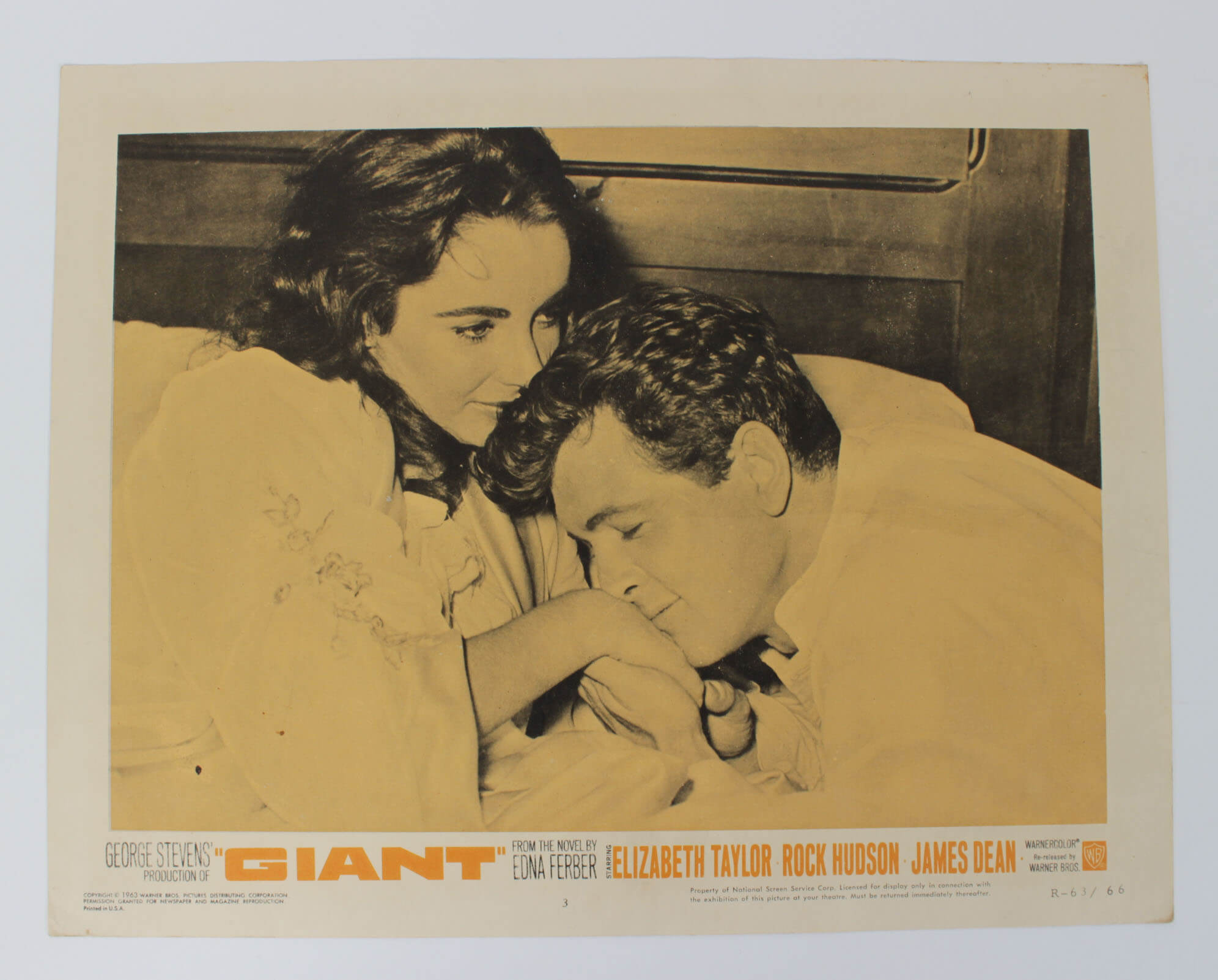 The Giant Movie Lobby Card R-63/66 Dean, Hudson and Taylor8868_01