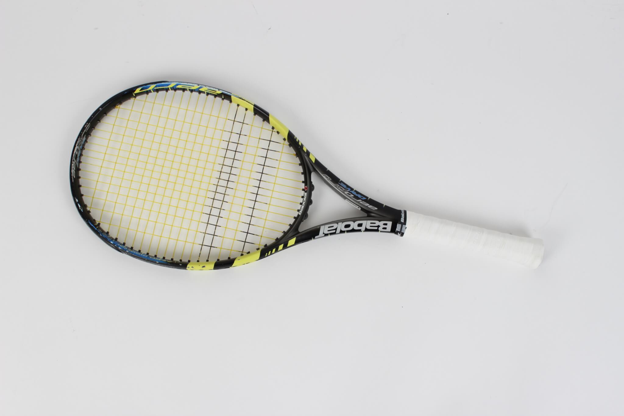 5b781325829 Rafael nadal game used match used babolat aeropro tennis racquet jpg  2048x1365 Rafael nadal tennis racquet