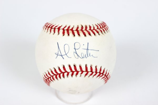 New York Yankees Al Lieiter Signed Baseball