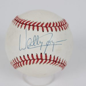 California Angels Wally Joyner Signed Baseball