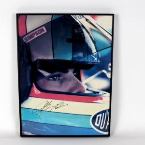 NASCAR Jeff Gordon Signed 18x24 Photo