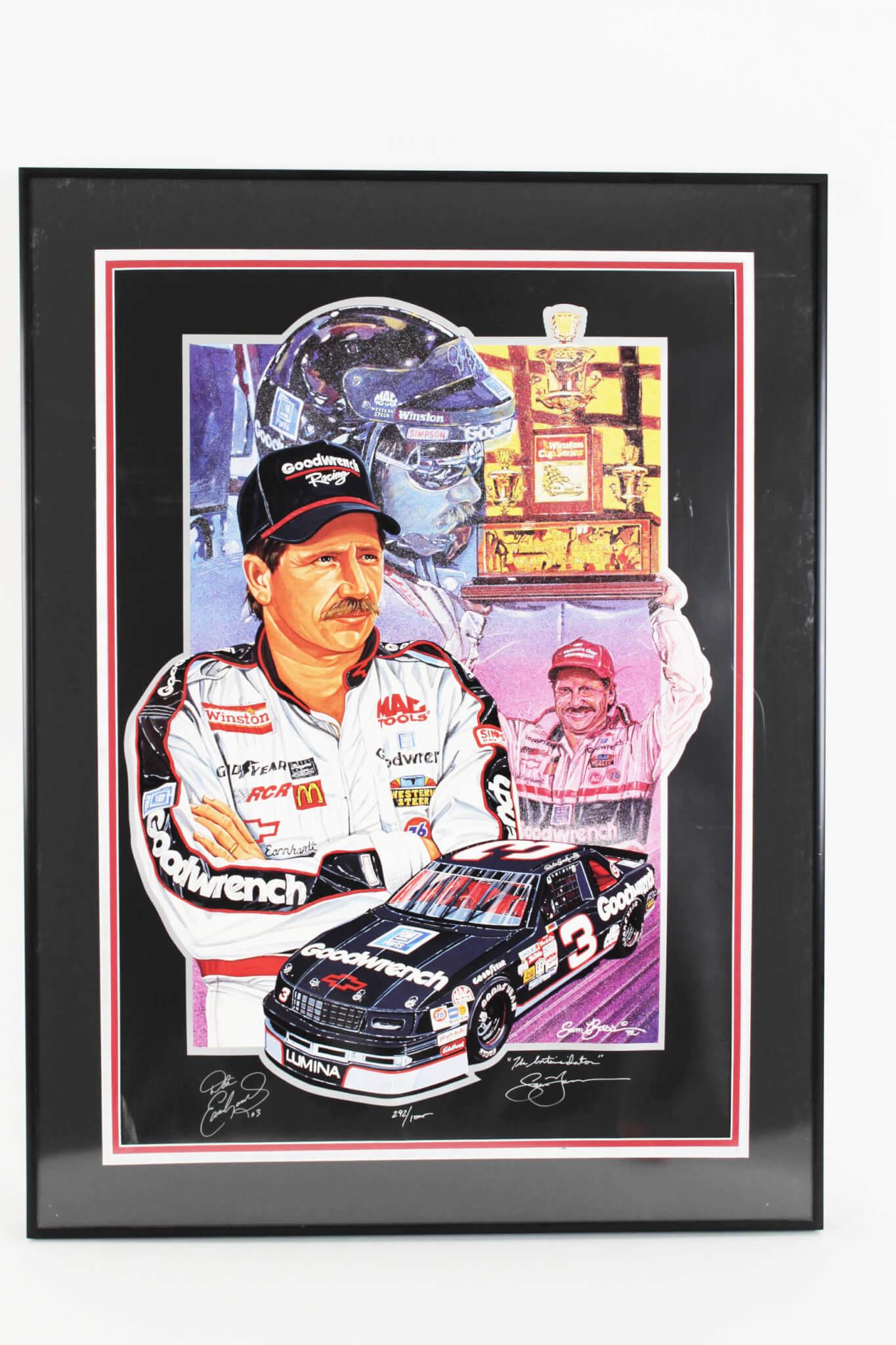 Sports Mem, Cards & Fan Shop Dale Earnhardt #3 Collectible Ncascar Autographed Licence Plate Tag