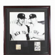 New York Yankees- Mickey Mantle & Roger Maris Signed 28x32 Photo - JSA