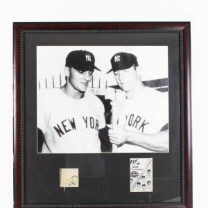 Roger maris mantle signed photos
