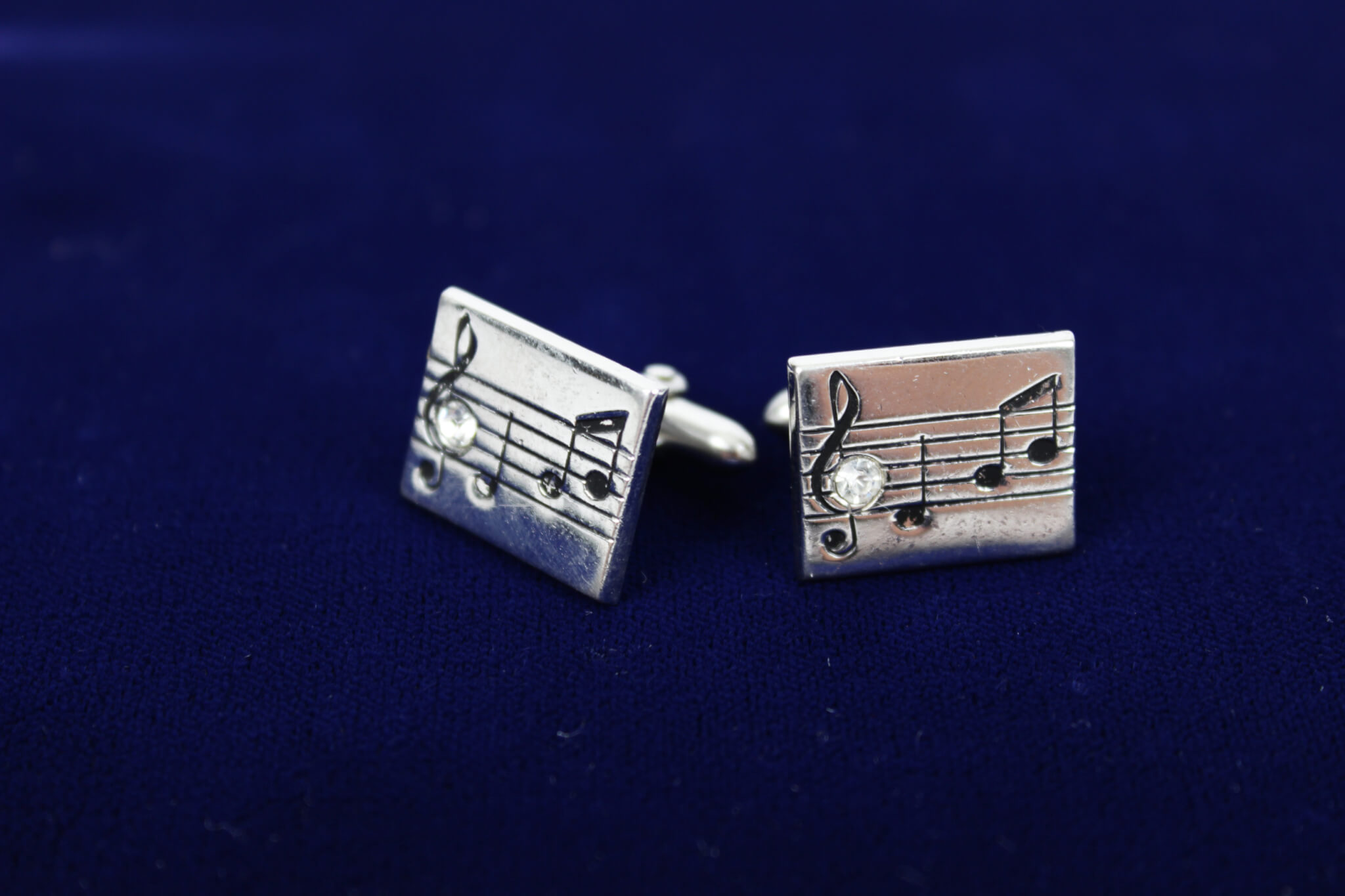 Elvis Presley Swank Cufflinks Given to Bill Layne Director of International Hotel, Las Vegas