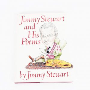 Jimmy Stewart Signed book