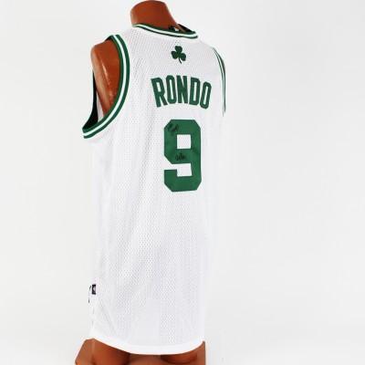 "Boston Celtics - Rajon Rondo Signed & Inscribed ""NBA Champs"" Jersey"