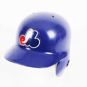 Montreal Expos - Mark Grudzielanek Game-Worn Batting Helmet