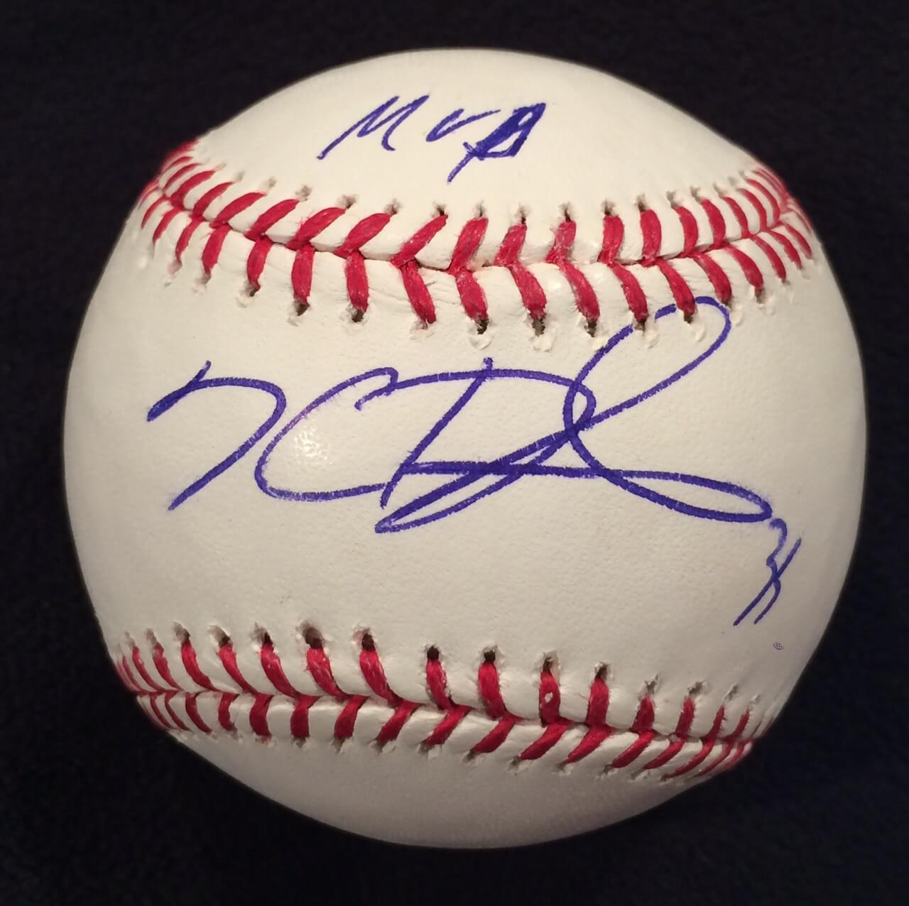 "Kevin Durant Signed Inscribed ""MVP"" and ""35"" OML Baseball 1/1 Rare Thunder JSA COA"