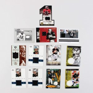 Oakland Raiders Upper Deck Game-Worn Jersey Cards