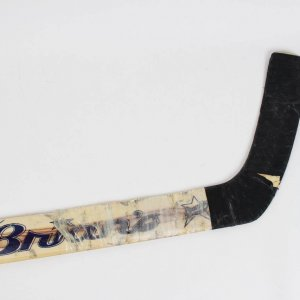 "Los Angeles Kings - Felix ""The Cat"" Potvin Game-Used, Signed Goaltender Goalie Hockey Stick"