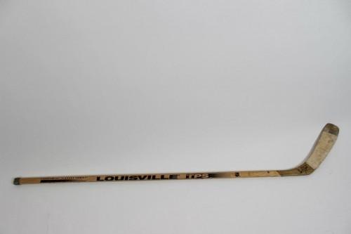 Los Angeles Kings - Dan Blysma Game-Used, Signed Hockey Stick - COA JSA