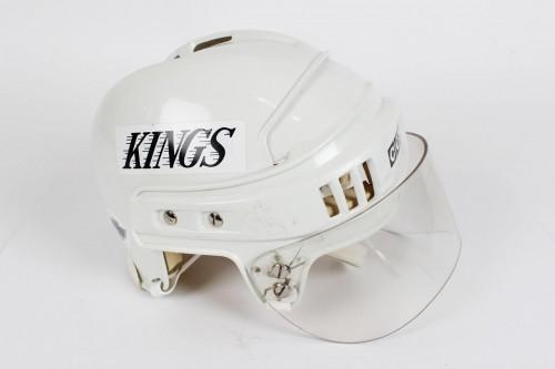 1993-94 Los Angeles Kings - Darryl Sydor Game-Worn Helmet - COA