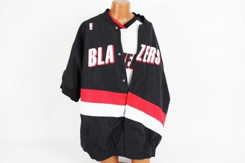 1997-98 Portland Trail Blazers - Walt Williams Game-Worn Warm Up Jacket & Shirt (COA)