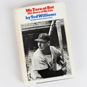 "Boston Red Sox Ted Williams Signed "" My Turn at Bat The Story of My Life "" Book"