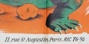 1960 The Lost World - Le Monde Perdu Movie Film Poster
