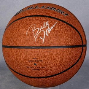 Oklahoma City Thunder Coach Billy Donovan Signed Basketball