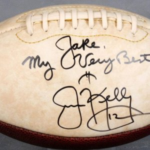 Buffalo Bills Jim Kelly Signed