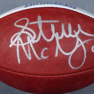 Tennessee Titans - Steve McNair Signed, Hand-Painted Football