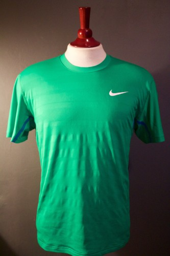 A Rafael Nadal Game-Used Custom Nike Tennis Shirt & Wristbands.  2011 ATP Western & Southern Open.  Includes Signed Tournament Postcard.