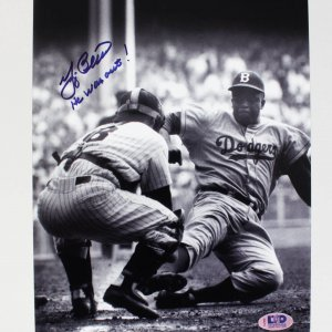 New York Yankees Yogi Berra Signed 8x10 Photo