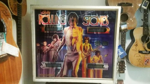 1980 Rolling Stones Pinball Machine Used by The Stones Back Stage In Dressing Room-Provenance Stones Show Promoter