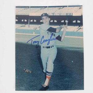 Boston Red Sox Tony Conigliaro Signed 8x10 Color Photo