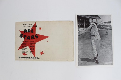 "1957 All-Star Photo Pack - Red Sox - Ted Williams 6""x 8.5"" Photo (w/Envelope)"