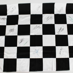 Indy 500 Signed Flag