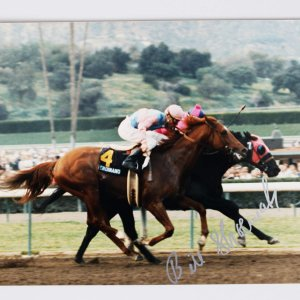 Horse Racing Jockey - Bill Willie Shoemaker Signed 8x10 Photo