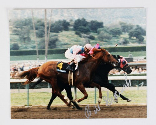 Horse Racing Jockey - Bill Willie Shoemaker Signed 8x10 Photo