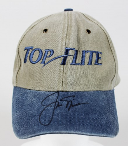 PGA Golf Legend - Jack Nicklaus Signed Top Flite Hat - JSA