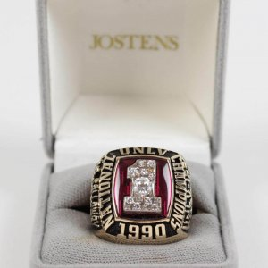 1990 UNLV National Championship Ring -Jostens Original Box-Original from Team Doctor