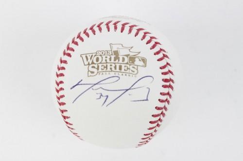 2013 Boston Red Sox - David Ortiz Signed OWS Baseball