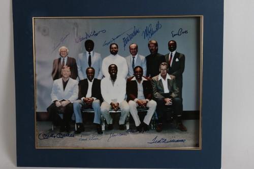 500 HR Club Signed Wm Hongach (Photographer) 16x20 Print LE 63/500 incl 11 Sigs Mantle, Williams, Mathews