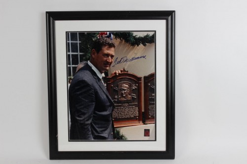 Boston Red Sox - Ted Williams Signed 23x27 Photo Display - COA