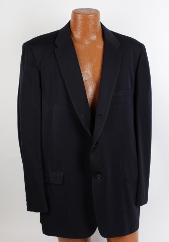 Boxing Legend - Jack Dempsey Worn Roger Kent Blue Serge Wool Suit Coat Jacket (Custom Tailored For Jack Dempsey Tagging)