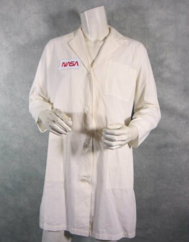 James Marsden The Box screen worn wardrobe - Lab coat with Media Rights Capital Official Studio COA