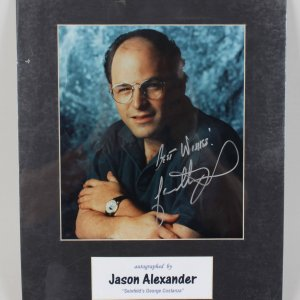 """ Seinfeld's George Costanza"" Jason Alexander Signed 8x10 Photo"